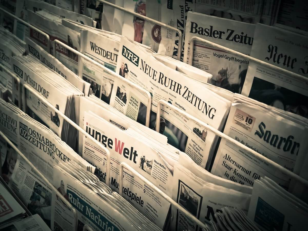 大手新聞紙おすすめ6誌の詳細や購読料を徹底比較【2021年版】