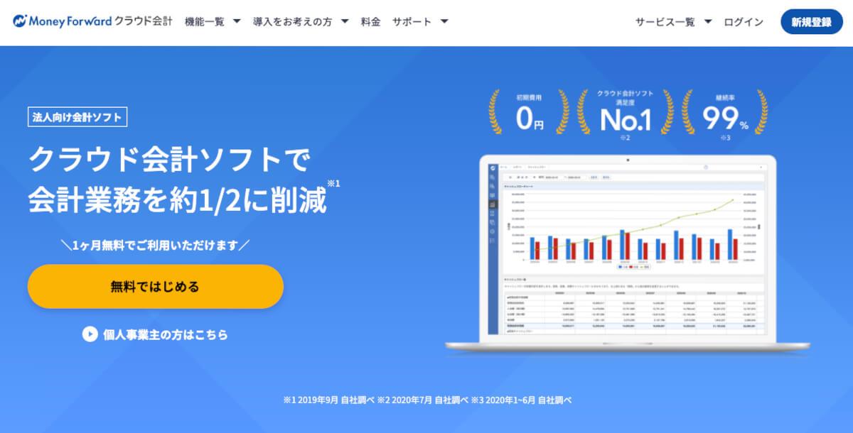 money forwardクラウド会計